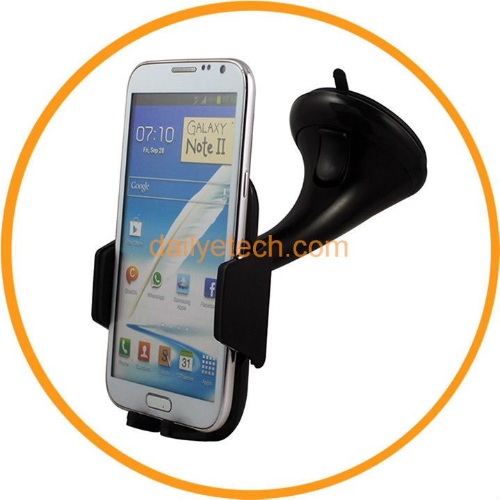 Universal Car Windshield Mount Cradle Holder for Samsung Galaxy S2 S3 S4 Note II from dailyetech