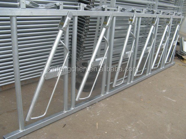 Hot dipped Galvanized Cattle Head Lock for sale