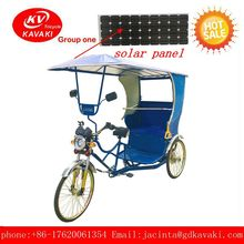 passenger electric tour tricycle with super power have 2 seat can be installed solar panel with electric tricycle bike