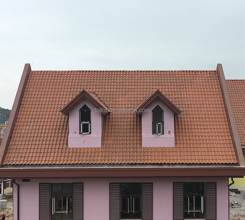 Wholesale Sale Construction Roofing Clay Roof Tiles Romanee