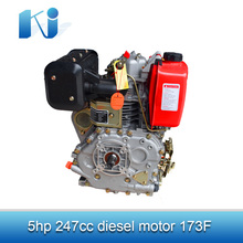 widely-uesd 5hp air-cooled greaves diesel engine KJD173F