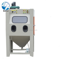 Glass bead sand blasting machine/wet sand blasting machine/wet sand blasting cabinet