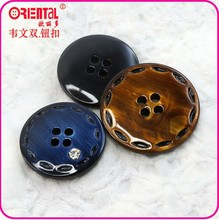 four houls dye colo brushed button with rinhestone for shirt