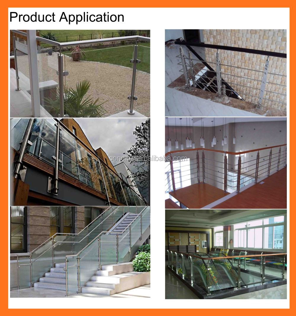 Chinese outdoor metal handrail for steps