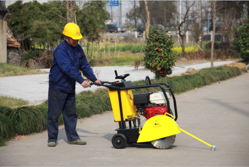 Pavement saw, gasoline engine concrete Cutting machine 20A