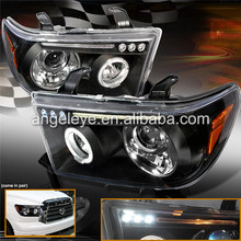 FOR TOYOTA Tundra LED Head Lights 2007- 2013 year Black Housing JY
