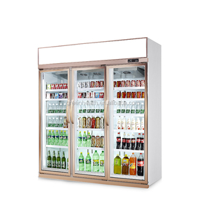 Hot Sale Luxurious Refrigerator Display Cabinet/commercial refrigerator shelves/small commercial refrigerator