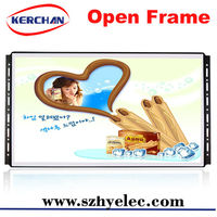 18.5 inch open frame roof mount car tft lcd flip down monito