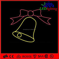 Wholesale christmas bell motif light and christmas decoration light with CE/UL/ROHS certificate