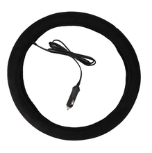 12V electric heated steering wheel cover