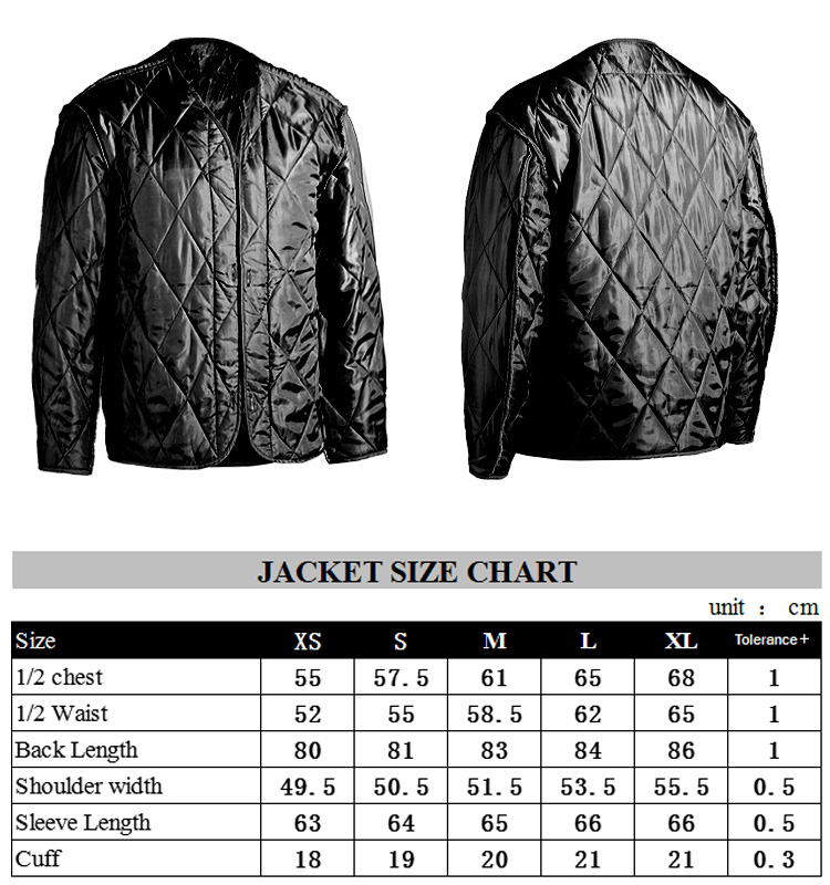 Custom Design Windproof Black M65 Jacket Photos