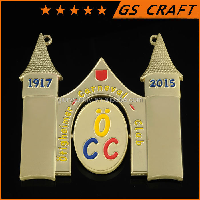 new original good quality promotional rotary badge