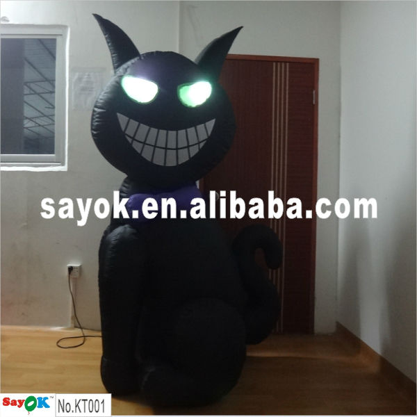 2013 advertising inflatable cartoon/inflatable cat