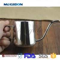 megidon fda test 304 stainless steel coffee kettle