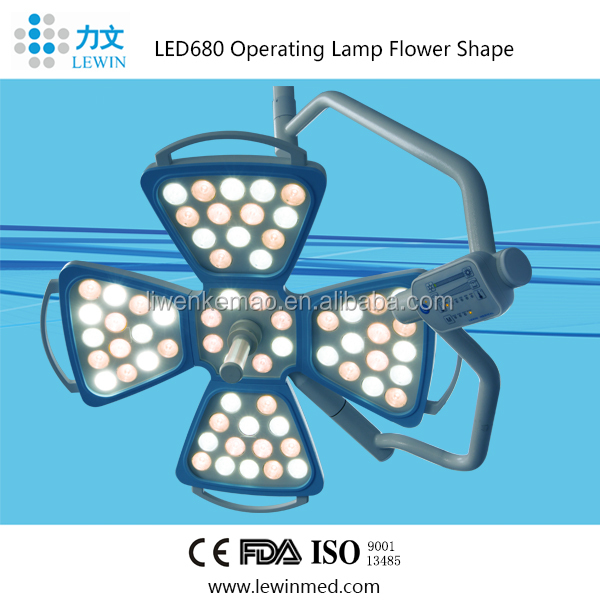 Clinic LED operation room light price LED 680 with camera
