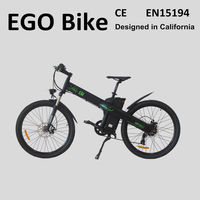 Seagull 26'' cheap electric bike trial bicycles with pedals