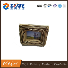 New design natural driftwood photo frame craft for decoration