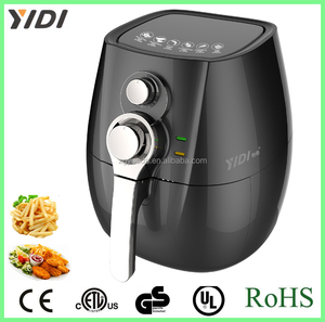 Low Fat Oil Free 3 Liter Electric Healthy Turbo Air Fryer& no oil air deep fryer