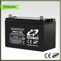 12V 80Ah lead acid ups replacement battery manufacturer/vendor in China