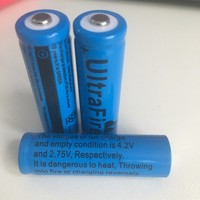 Cheap 3.7V ICR 14500 Li-ion Rechargeable Battery , Li ion Battery 14500 1200mAh