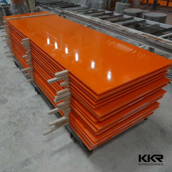 modified acrylic solid surface sheets non-porous polymer sheets