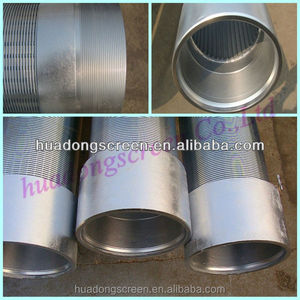 Widely Used Threaded Ends Rod Based Water Well Screen/Rod Based Wire Wrapped Wedge Wire Screen