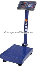 New Model TCS - ZT 300kg / 20g Electronic Platform Scale,S.S Indicator,Can Be Folded