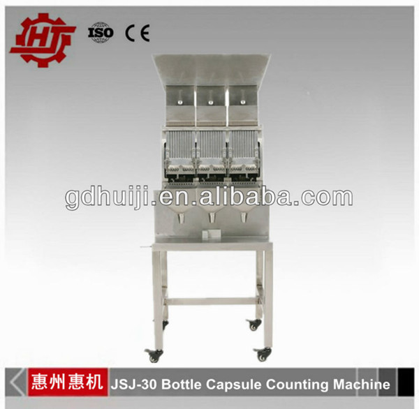 JSJ-30 Empty Bottle Filling Machine for Hard Capsule Bottling and Counting