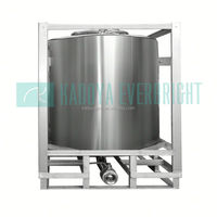 Stainless steel container to store olive oil