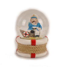cheap snow ball snow globe resin gift