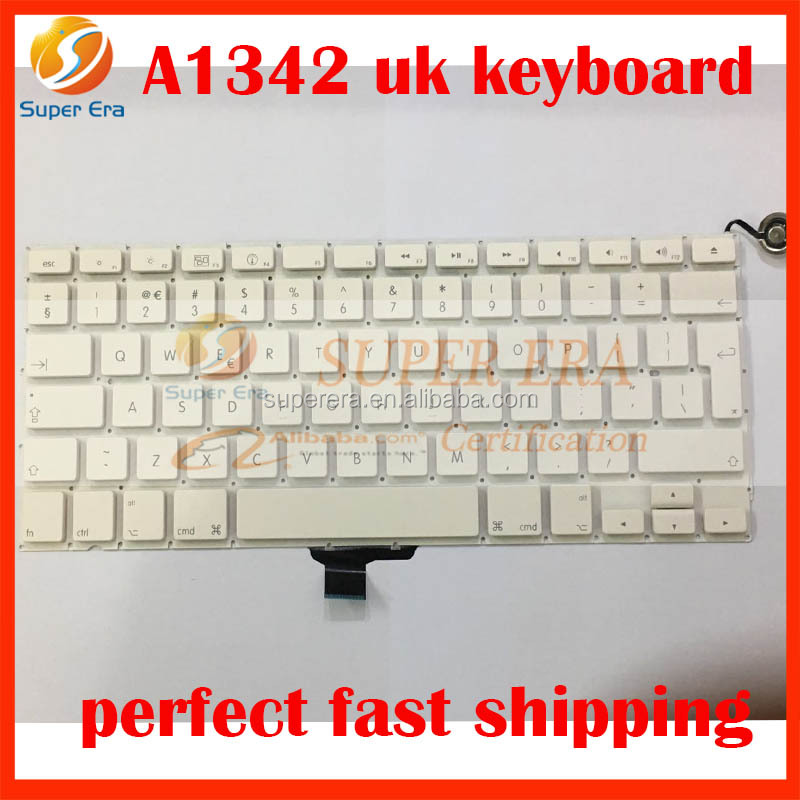brand new keyboard for macbook A1342 UK clavier without backlight backlit 2009 2010year best testing