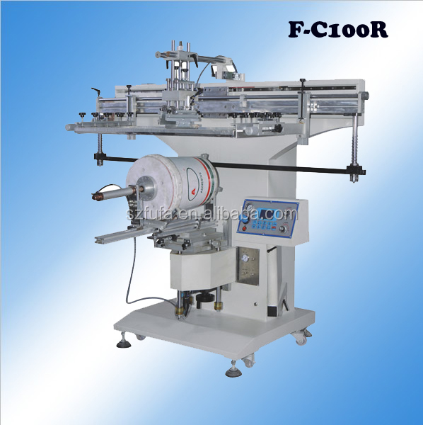 F-C100R Offer large automatic cylindrical screen printer (DIY accepted)