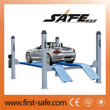 Cheap Auto lift 5T four post car lifter with CE