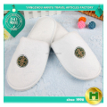 Coral Velvet Hotel Slippers / Premium Comfortable Velour Hotel Restroom Slippers / Anti-slip Eco-friendly EVA Sole Slippers