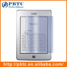 Factory Price Wholesale Clear Screen Protector For Kindle Touch , Custom Screen Protector
