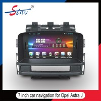 7 inch car gps navigation for Opel Astra J with mirror link/dvd player indash