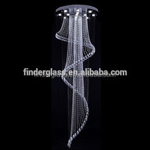 Crystal Material and Energy Saving Light Source fiber optic chandelier