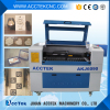 Economic paper laser cutting machine price/Acctek 9060 6090/80W laser machine mainly for engrave