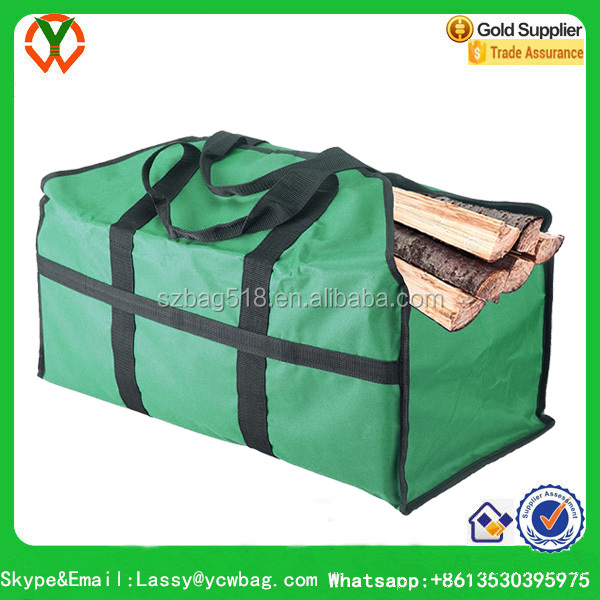 Firewood Log Carrier Tote Bag