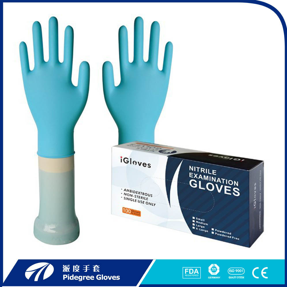 Nitrile Disposable Powderfree Gloves BLUE (<strong>1000</strong> gloves)