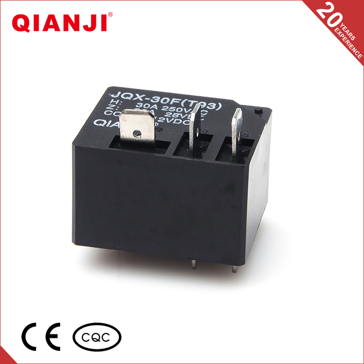 QIANJI Factory Supply Electronic Component JQX-30F T93 PCB Relay 12V