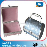 aluminum small beauty cosmetic box