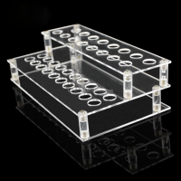 retail 3mm thickness clear lipstick display holder acrylic racks and stands