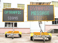2015 New Design Solar Traffic Variable Message Signs Trailer Traffic Control Message Sign Equipment