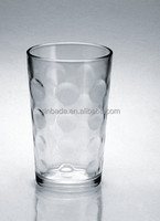 wholesales drinking glass tumbler,8oz dot cup,glassware