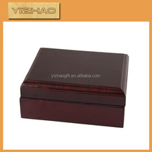 Laser wooden boxes package,wood grain cardboard box
