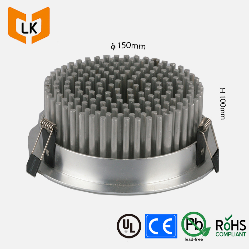 China round pin fin cxb3590 heatsink for led housing light