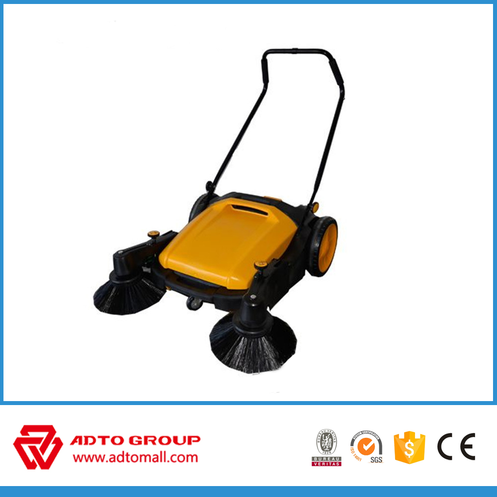 Wholesale High Efficiency Manual Double Brushes Electric Sweeper