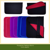 waterproof neoprene flip style laptop sleeve bag for 17 inch laptop