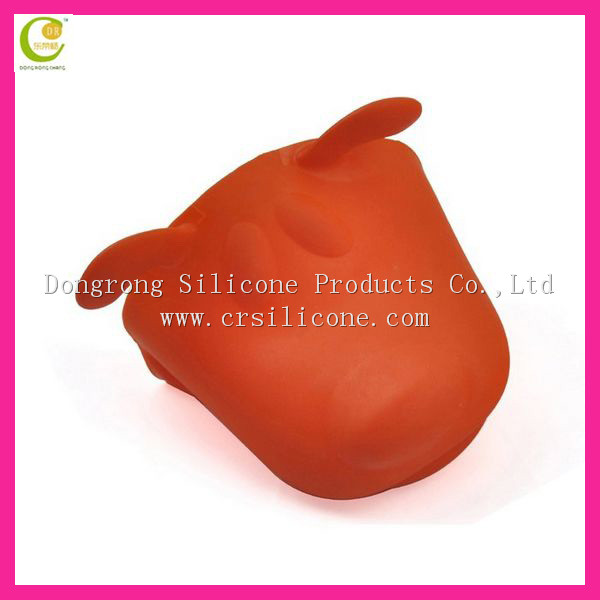 High temperature hot selling funny resistant microwave safe kevlar silicone dots oven gloves
